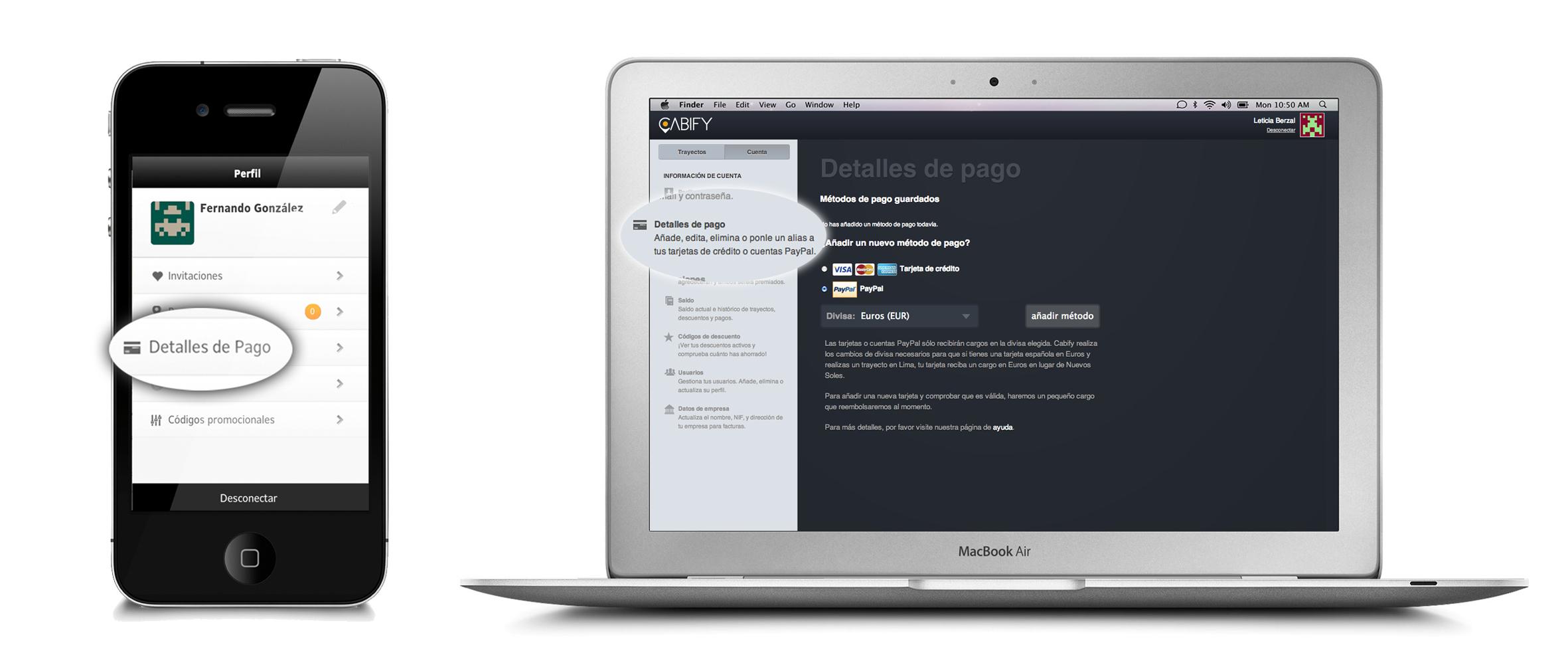 Ahora en Cabify también puedes pagar mediante PayPal