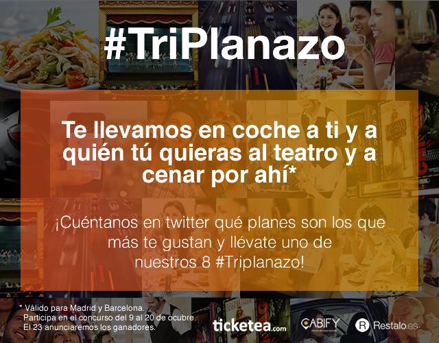(Español) Buscamos a 8 sibaritas que quieran disfrutar del #TriPlanazo