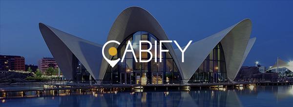 ¡NUEVO! Cabify llega a Valencia